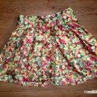 wiosenna rozkloszowana spódniczka floral