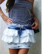 Zara marmurka jeans