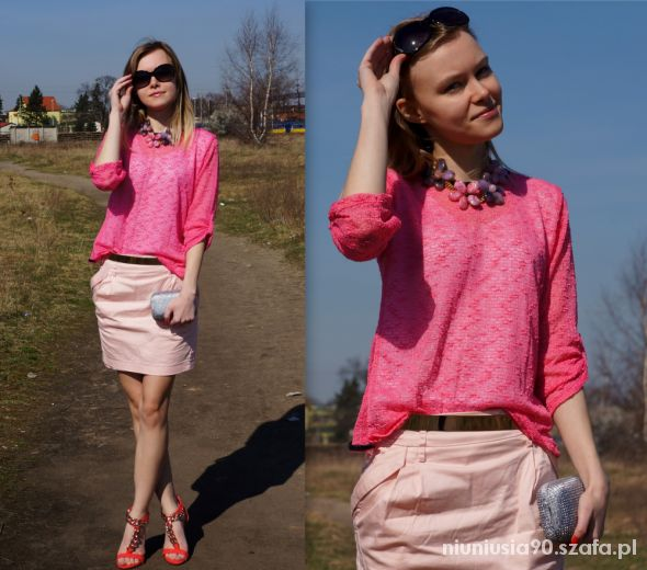 Mój styl Pink and Red