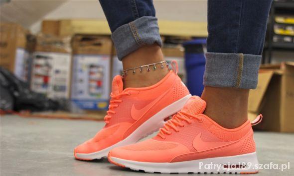 Sportowe Nike Air Max Thea Atomic Pink