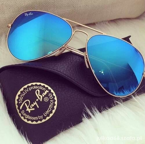 okulary pilotki damskie ray ban