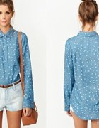 Koszula Jeans w Kropki