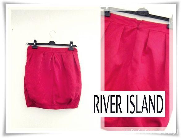 Spódnice DIY RiverIsland Tulipan Czerwony Spodniczka 36