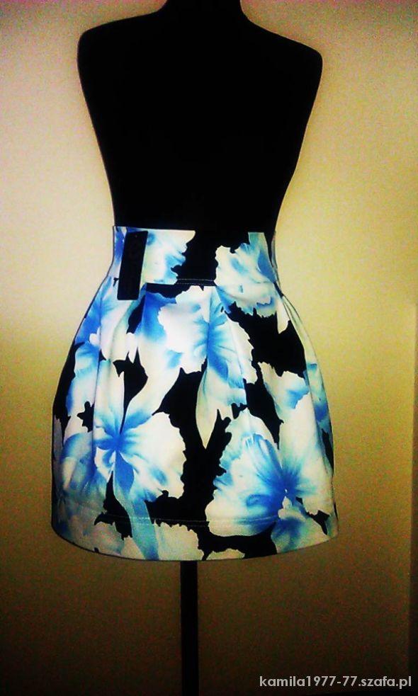 Spódnice spódnica floral kontrafałdy cudoooo Exclusive