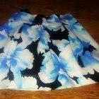 spódnica floral kontrafałdy cudoooo Exclusive