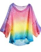 Tęczowy sweterek H&M