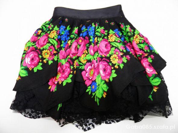 c6c47ae6 My słowianie FOLK floral spódnica CLEO ROZMIARY w Spódnice - Szafa.pl