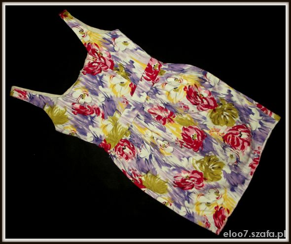 DOROTHY PERKINS sukienka tulipan FLORAL PRINT