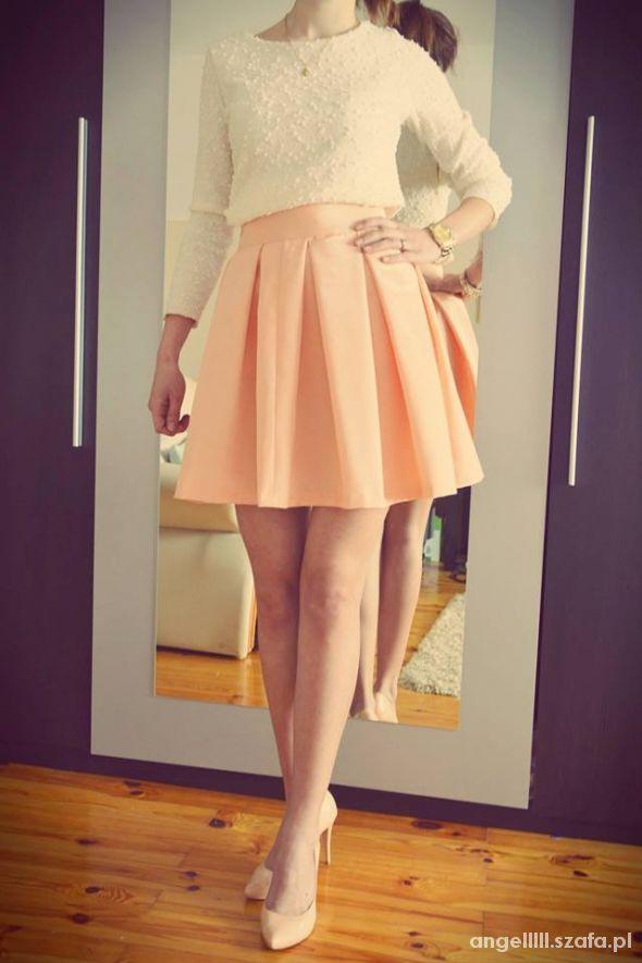 Spódnice Piękna rozkloszowana spódniczka HIT