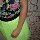 neonowa spódniczka