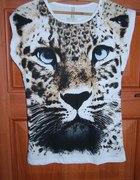 Tygrys Lampart Zwierzecy Print Hit