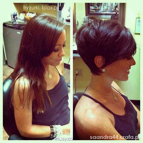 Krótkie Włosy W Fryzury Szafapl