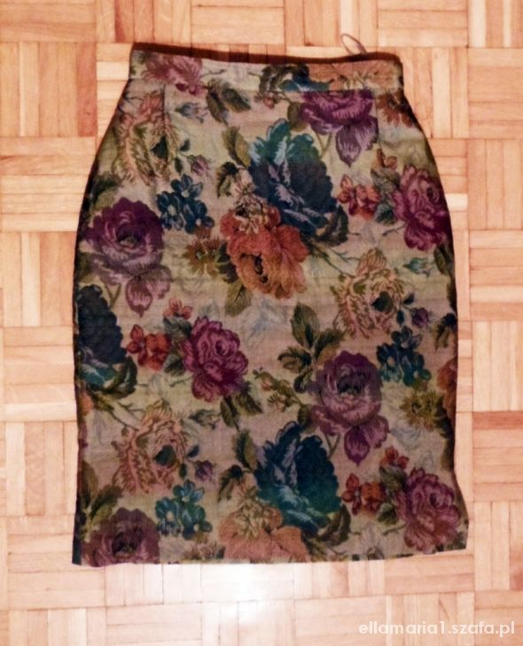 Spódnice Gobelinowa ołówkowa spódnica