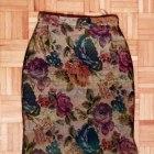 Gobelinowa ołówkowa spódnica