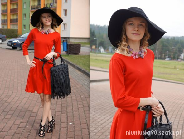 Mój styl Red Dress