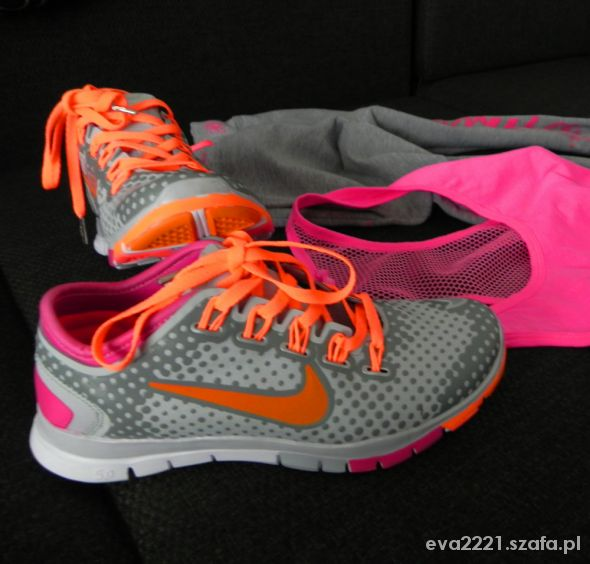Sportowe Nike Tr Fit neonki