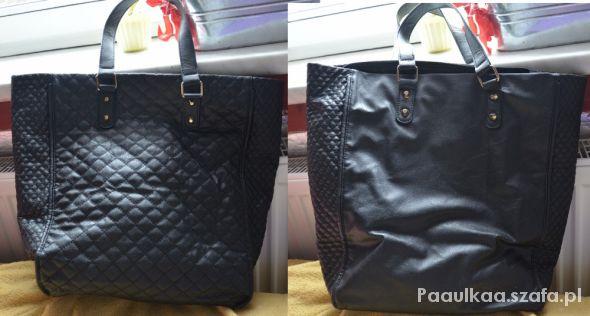 Shopper bag House torebka pikowana z ćwiekami w Torebki na