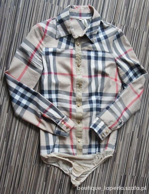 Koszula body Burberry rozmiar M...