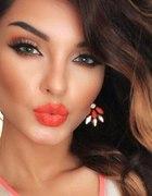 Piękna make up sexy