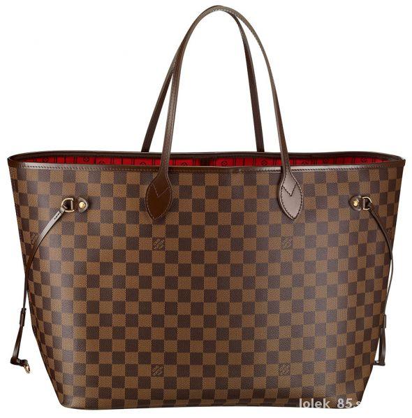 lv neverfull torba shopper bag