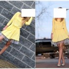 pastelowa sukienka z tiulem