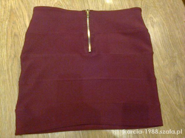 Spódnice bandażowa spódnica zip