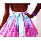 Poszukiwana spódnica kolorowa blogerska rozkloszow