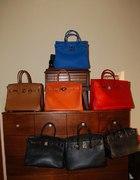 Kolekcja torebek HERMES BIRKIN...