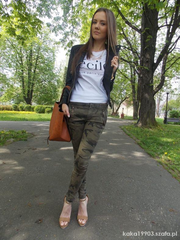 Blogerek Cecile&Military pants