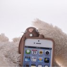 Etui case Iphone 4 4s 5 5s Moschino Bunny silicon