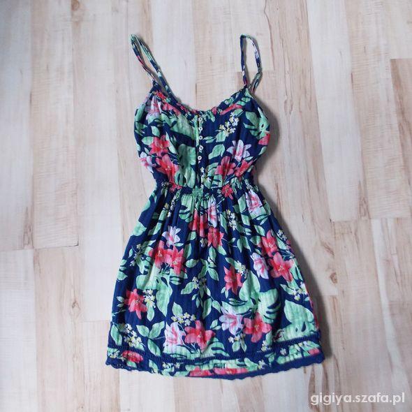 Sukienka Hollister Abercrombie and Fitch roz S