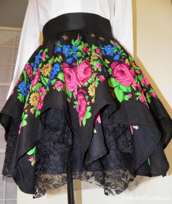 3620e47d MY SŁOWIANIE FOLK floral spódnica CLEO ROZMIARY w Pozostałe - Szafa.pl