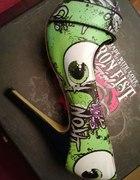 Zielone szpile Iron Fist 36 oczy