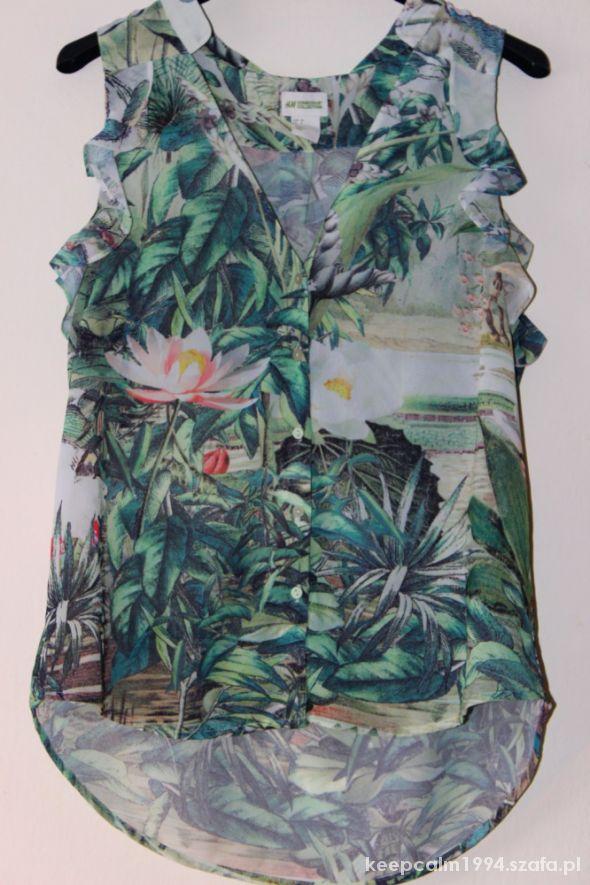 jungle print mgiełka