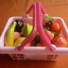 Zabawka koszyk z OWOCAMI
