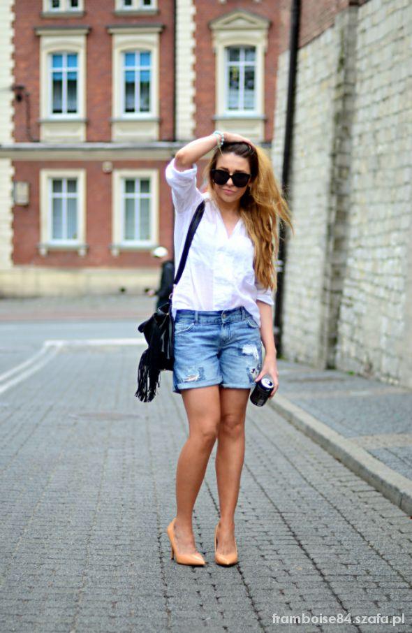 Blogerek white shirt
