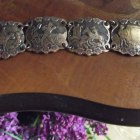 Miedziana bransoletka z Don Kichotem