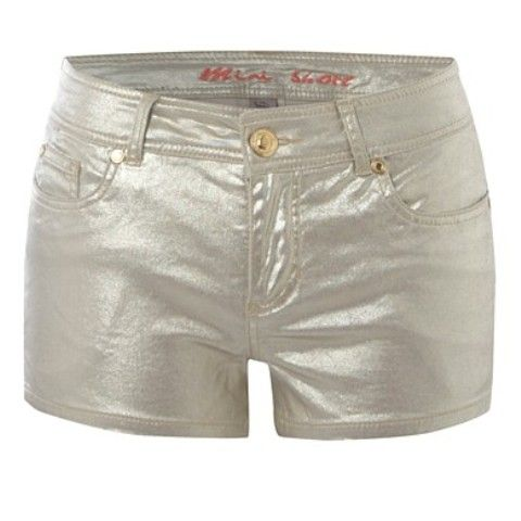 Gold Shorts PRIMARK złote szorty...