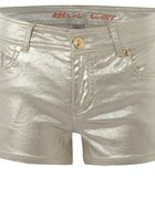 Gold Shorts PRIMARK złote szorty