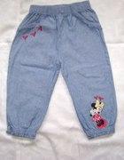 Disney spodnie roz 12 18 msc 80 86 cm