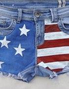 Szorty DIY USA New Look