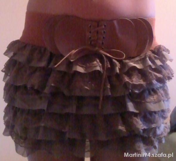 Spódnice Falbaniasta spódniczka S