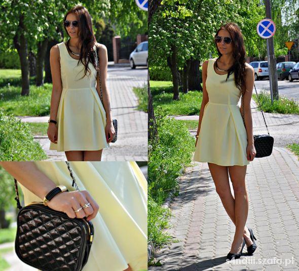 Blogerek pastelove sukienka pastelowa