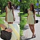 pastelove sukienka pastelowa