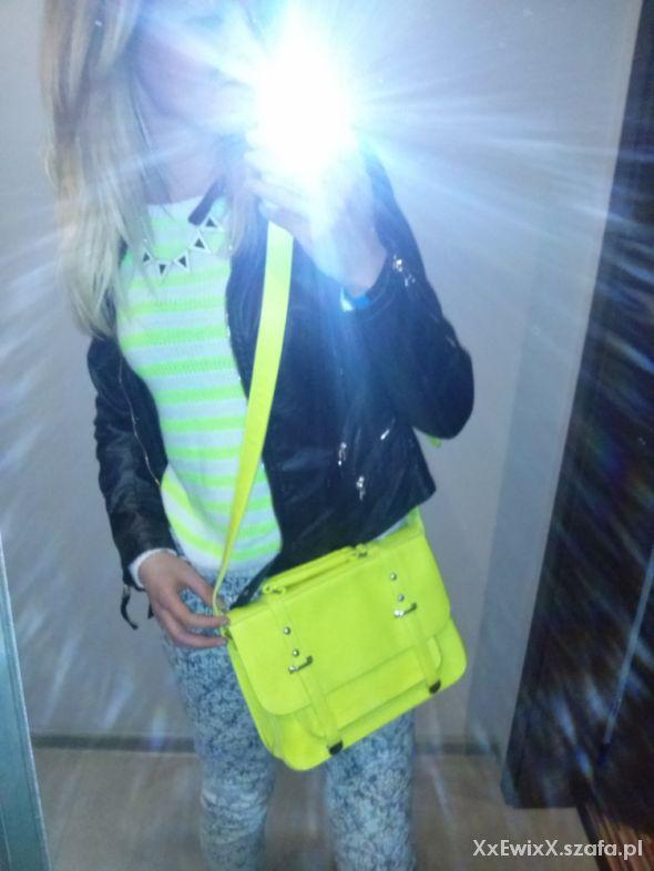 Mój styl neony