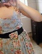 Dress flowers zara...