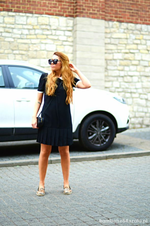 Blogerek collar dress