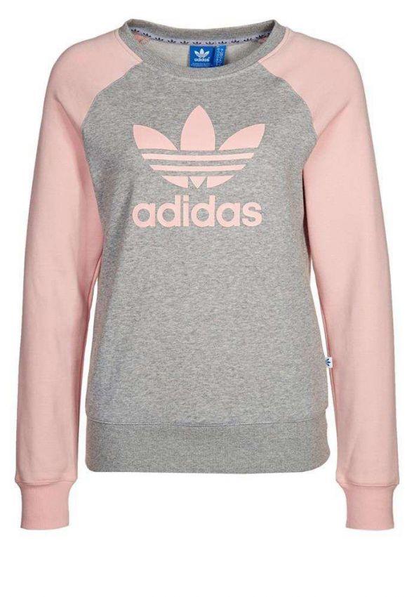 bluza adidas originals różowa