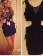 Oh my love black dress