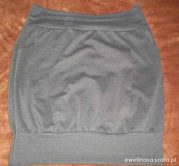 Spódnice spódnica bombka szara